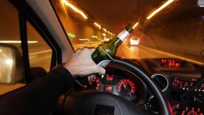 Accidente con conductor positivo por alcoholemia