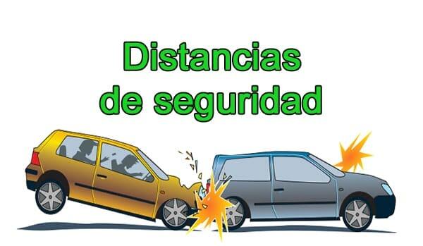 El no respetar la distancia reglamentaria entre coches se puede considerar como una infraccion grave