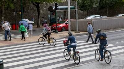 Indemnizacion por atropello a ciclistas y peatones