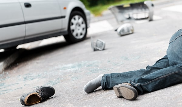 Que clase de lesiones puede sufrir un peaton si es atropellado