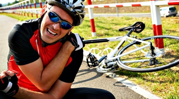 Que tipo de lesiones puede sufrir un ciclista si es atropellado