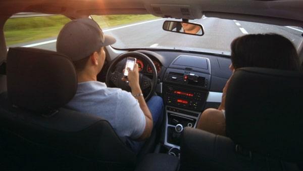Siniestros por distracciones al volante