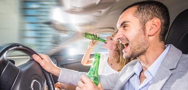 Son comunes los accidentes por conductores positivo por alcoholemia
