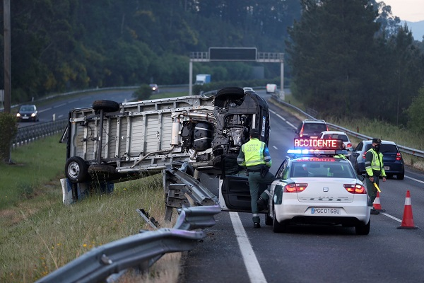 accidentes en Madrid